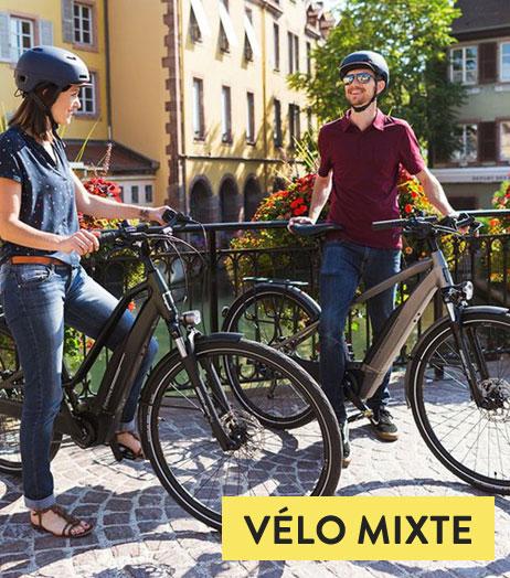 Vélo électrique Mixte (ville et chemin)
