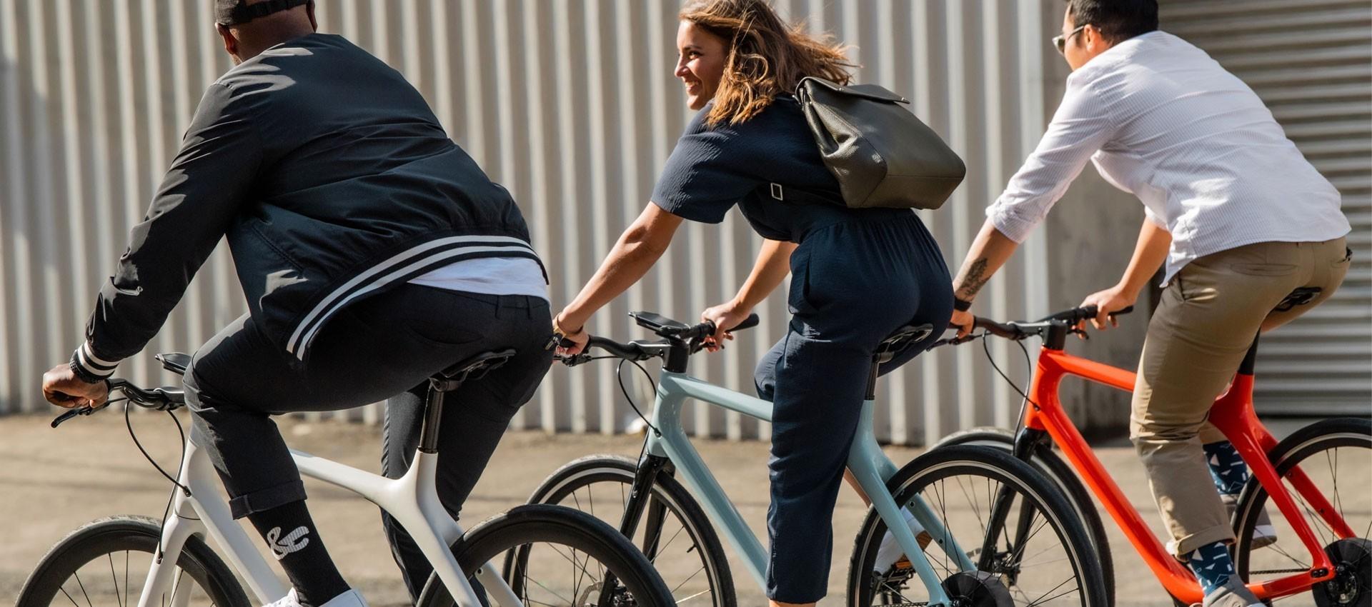 Vélos de ville électriques - Au vélo électrique / Veloland Marseille